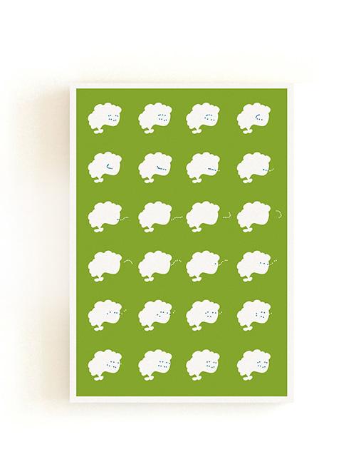 Follow the White Rabbit / Postcard 03