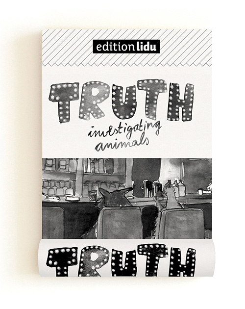 Truth Investigating Animals / B&W Pocket Comic Book