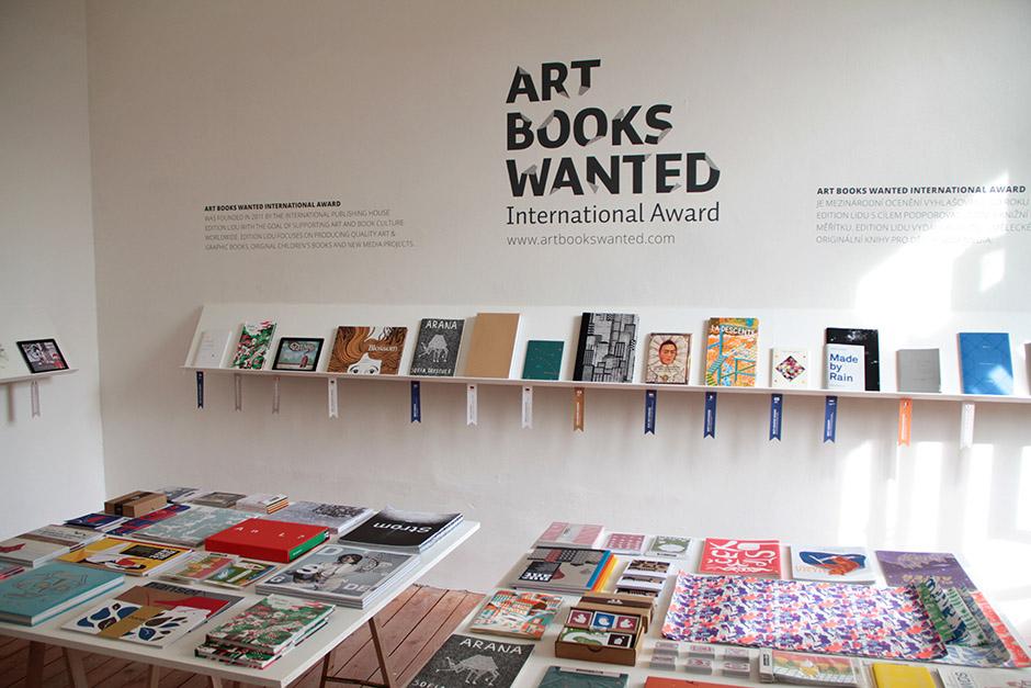 ART BOOKS WANTED Award exhibition at Designblok in Prague 2013