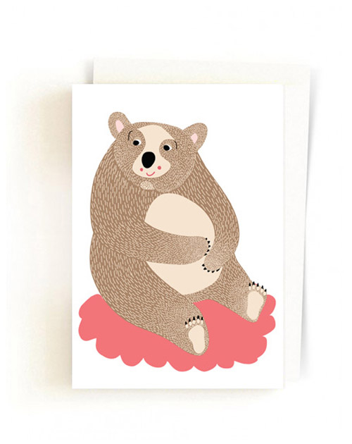Christmas Forest Cards / Bear Jane