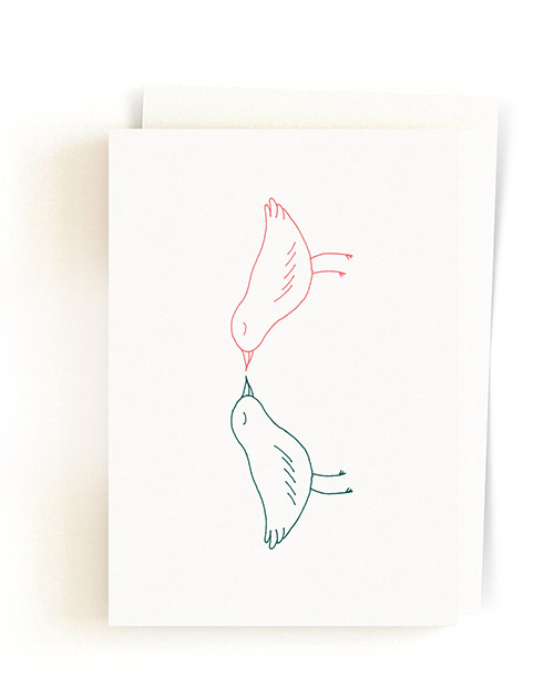 Toulitka / Greeting Card + Envelope 03