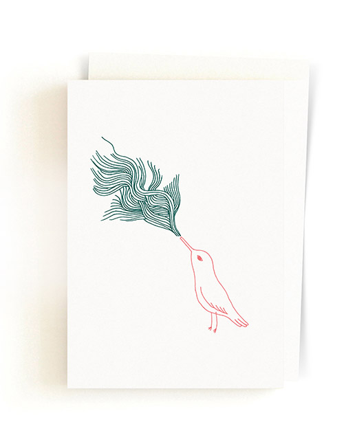 Toulitka / Greeting Card + Envelope 05