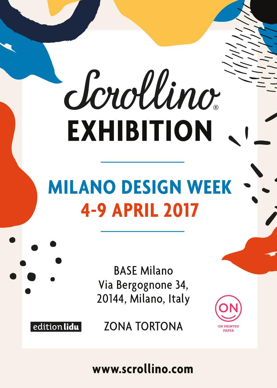 Scrollino by edition lidu at milano design week 4 9 for Design week milano 2017